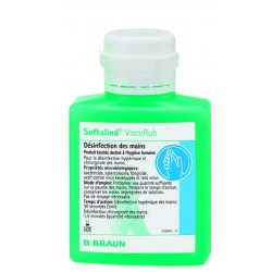 GEL HYDROALCOOLIQUE SOFTALIND VISCORUB 100 ML
