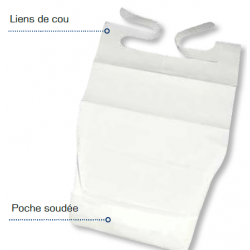 SERVIETTE DE TABLE ADULTE JETABLE